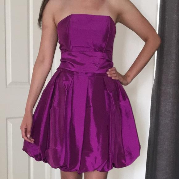 Forever 21 Dresses & Skirts - Retro Purple Poofy Forever 21 Dress Size S